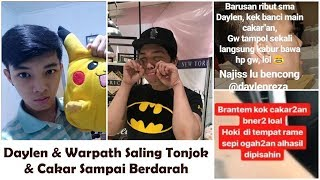 Video Daylen dan Warpath Berantem Saling Tonjok & Cakar Sampai Berdarah (Dua Pemain Pro Mobile Legends) MP3, 3GP, MP4, WEBM, AVI, FLV Oktober 2018