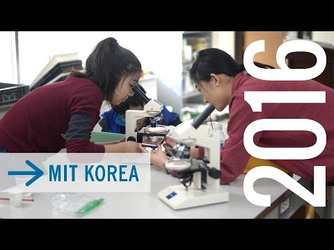 MIT Korea 2016: Biology & Chemistry with MS Students