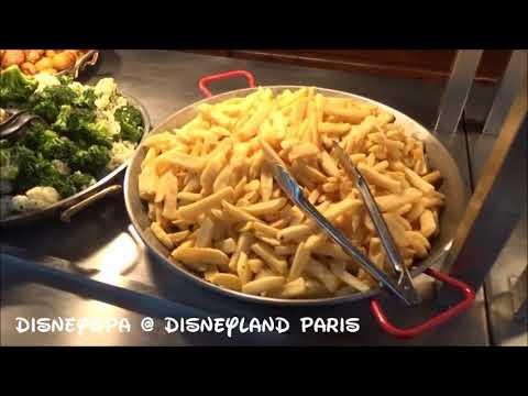 Disneyland Paris Restaurant Cheyenne Hotel Chuck Wagon Café 2017 DisneyOpa