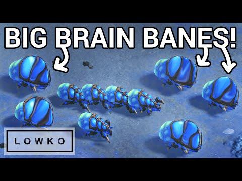 StarCraft 2: BIG BRAIN BANELING BUST!
