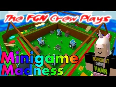 The FGN Crew Plays: Roblox - Minigame Madness (PC)