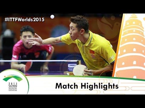 WTTC 2015 Highlights: FANG Bo vs XU Xin (R 16)