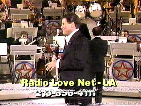 1987 Jerry Lewis Telethon - Final tymps... Sammy Davis Jr and JL sing