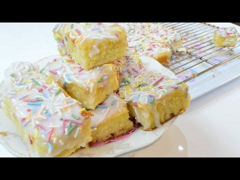 How To Make School Dinner Cake Recipe | Easy Cake Recipe | Cook With Anisa #recipes
