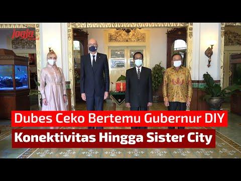 Dubes Ceko Bertemu Gubernur DIY, Bahas Konektivitas Hingga Sister City
