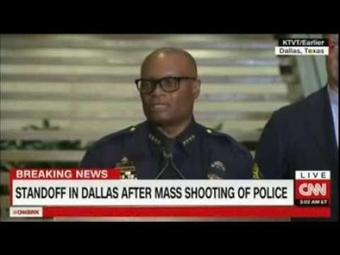 Breaking News Gunman especially wanted to kill white officers, police say