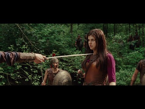 Percy Jackson And The Lightning Thief - Percy & Annabeth Fight Scene HD