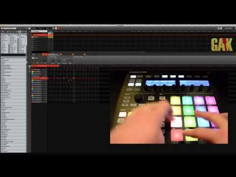 Native Instruments – Maschine MK2 Demo at GAK