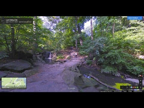 Google Maps   Exploring Central Park Through Street View