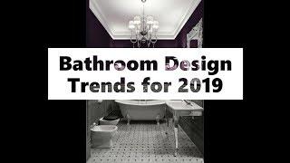 Modern Bathroom Design Trends 2019 - See 65 Bathroom Design Ideas