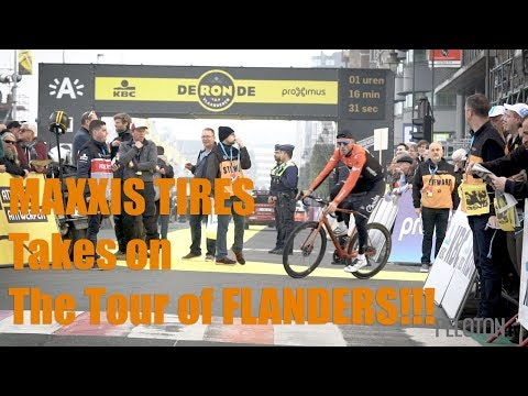 MAXXIS Tires Takes on the Tour of Flanders!!