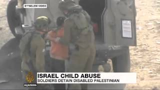 Israeli troops detain Palestinian boy with disability