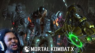 THE BEST FATALITY OF ALL-TIME (ooh baby a triple) | Mortal Kombat XL #18 (+Bean Boozled)
