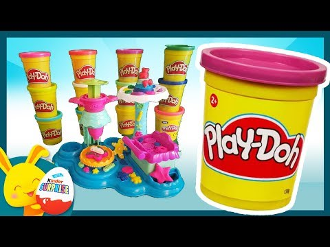 La patisserie et les Gateaux Play Doh - Touni Toys Titounis