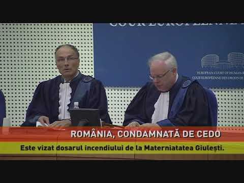 România, condamnată la CEDO în dosarul incendiului de la Maternitatea Giulești