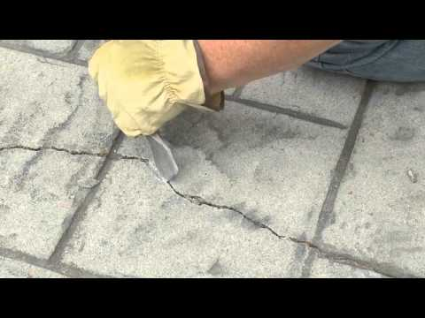 Sealing & Waterproofing Cracks in Concretes