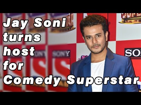 Jay Soni turns host for Comedy Superstar