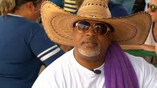Dez Byrant's barbecue and kickball party