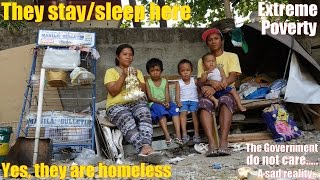 Real Philippines  City new picture : Travel to the Real Philippines: Homeless Family w/ 3 Young Kids. Poverty among Filipinos is High