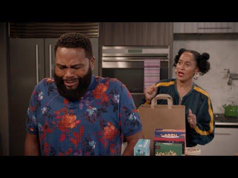 Dre Beats Up a Box of Cookies - black-ish