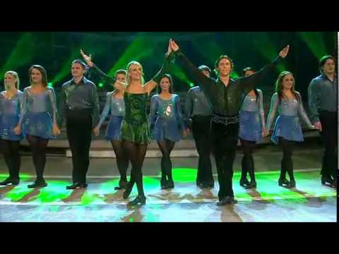 Step - Irish Dance Group - Irish Step Dancing (Riverdance) 2009 Riverdance Lead dancers are Nicola Byrne and Alan Kenefick.