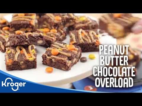 Sheet Pan Brownies Recipe│VIDEO │Kroger