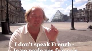 Learn French - Basic Phrases For Touristsלימוד צרפתית סרטונים