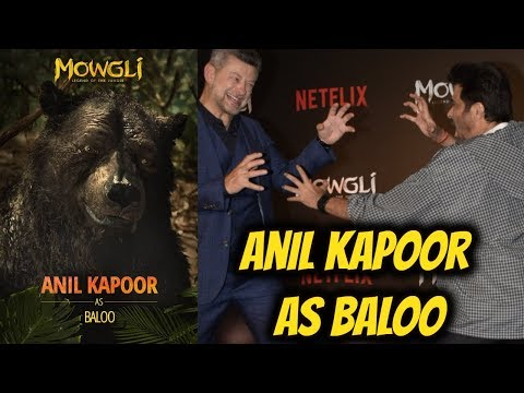 The Handsome Anil kapoor At Special Screening of Netflix's film 'Mowgli'