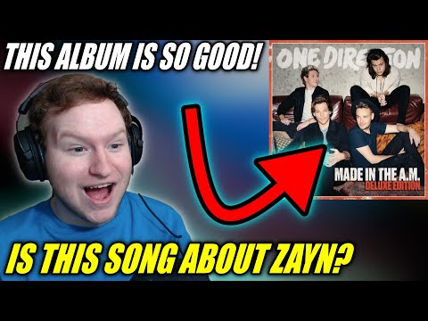 One Direction - Made In The A.M. ENTIRE Album REACTION!