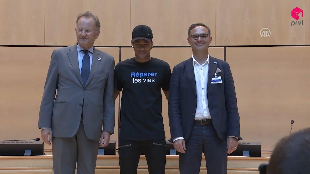 """Neymar novi ambasador """"Handicap Internationala"""""""