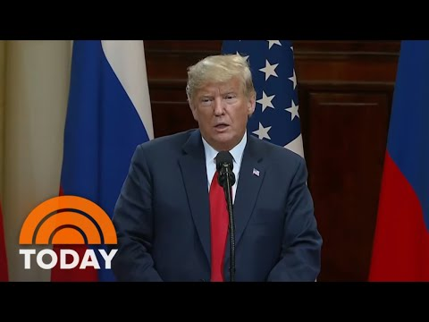 President Donald Trump Faces Backlash For Aligning With Vladimir Putin After Summit | TODAY