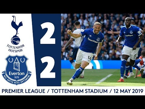 Video: CENK TOSUN AND THEO WALCOTT ON TARGET! | HIGHLIGHTS: SPURS 2-2 EVERTON