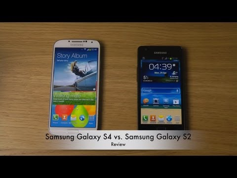 galaxy s2 - Today I will compare S4 vs. S2. Pricing and Availability: http://goo.gl/52SGy Daily Phone Reviews: http://youtube.com/dailyphonereviews Pricespy: Iphone 5 ht...