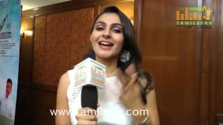 Andrea Jeremiah at Uttama Villian Movie Team Interview