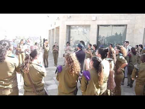 Download Young Israeli soldiers dancing in Jerusalem 1 MOV HD Mp4 3GP Video and MP3