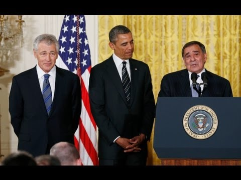 President Obama Nominates Chuck Hagel For Secretary Of Defense