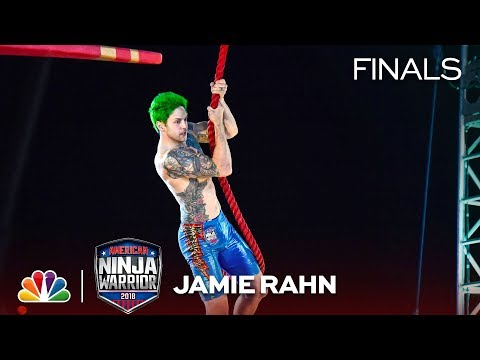 Jamie Rahn Goes Barefoot at the Vegas Finals: Stage 1 - American Ninja Warrior 2018 - Thời lượng: 3 phút, 1 giây.