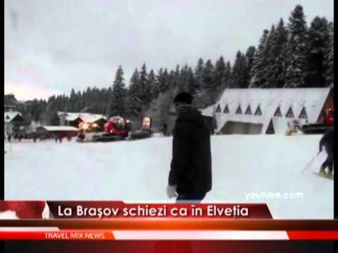 La Brașov schiezi ca în Elveția