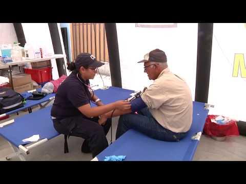 Equipo municipal ofrece apoyo médico