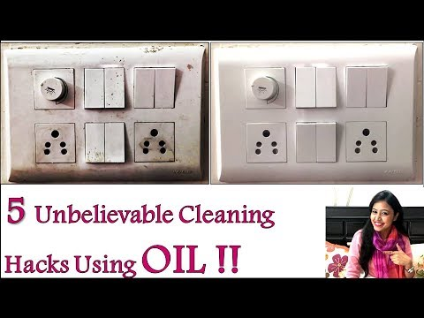 5 Cleaning Hacks Using OIL    Best   Very Useful   Tips   Tricks. Search result youtube video home cleaning ideas