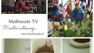 Kreativ unterwegs am Keramikmarkt