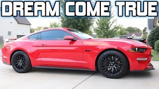 7. 2019 MUSTANG GT Delivery  (THATS RIGHT! I AM BACK)