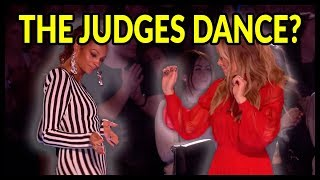 "Video Top 10 ""Judges Can't Stay STILL"" It's Too Much FUN... Let's Dance Moments On Got Talent UK! MP3, 3GP, MP4, WEBM, AVI, FLV Maret 2019"