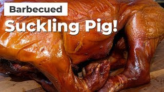 BBQ Suckling Pig On The Pit Barrel Cooker! |  Pig Roast by Ballistic BBQ