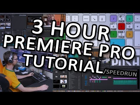 A Professional Video Editor for Linus Tech Tips Shows How he Edits Videos as Fast as Possible