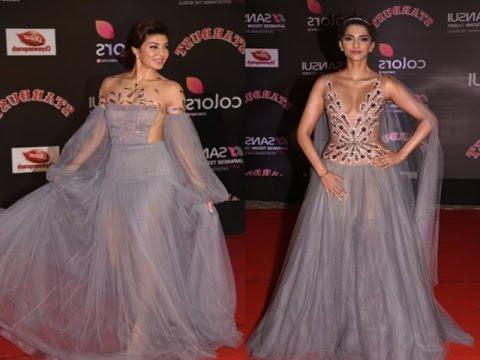"Sonam Kapoor & Jacqueline Fernandez's OOPS Moment At ""The Stardust Awards 2016"""