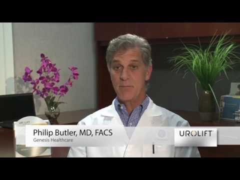 Dr. Philip Butler with patient Russell H. talk about the Urolift® System for BPH