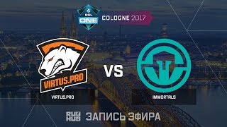 Virtus.pro vs Immortals - ESL One Cologne 2017 - de_cobblestone [ceh9, Enkanis]