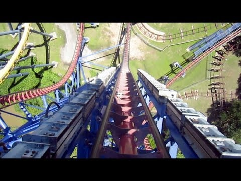 Video Mr Freeze Reverse Blast front seat on-ride HD POV Six Flags Over Texas download in MP3, 3GP, MP4, WEBM, AVI, FLV January 2017