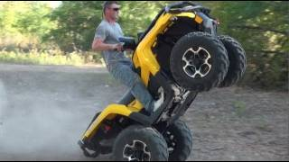 4. NEW!! 2012 CAN AM OUTLANDER 1000 XT - WHEELIES, HILLS & HI SPEED!!